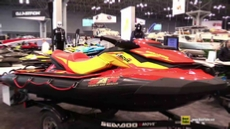 2015 Sea Doo SAR Search and Rescue Jet Ski at 2015 New York Boat Show