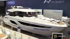 2018 Bavaria R55 Fly Motor Yacht at 2018 Boot Dusseldorf Boat Show