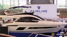 2018 Fairline Squadron 53 Yacht at 2018 Boot Dusseldorf Boat Show